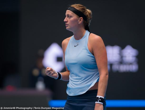 Petra Kvitova moves onto the second round | Photo: Jimmie48 Tennis Photography