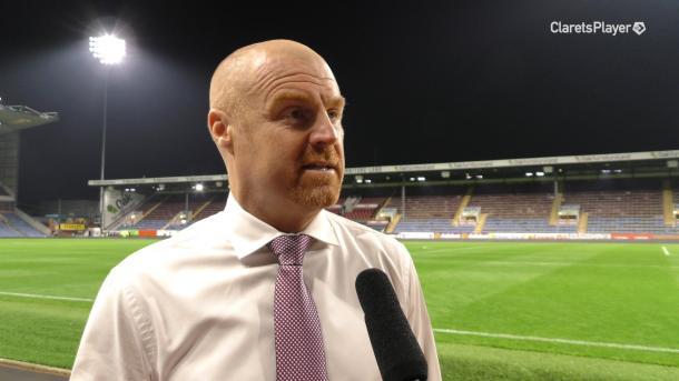 Sean Dyche (Burnley FC Twitter)