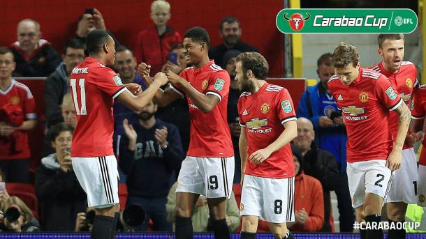 United sigue intratable | Foto: Carabao Cup.