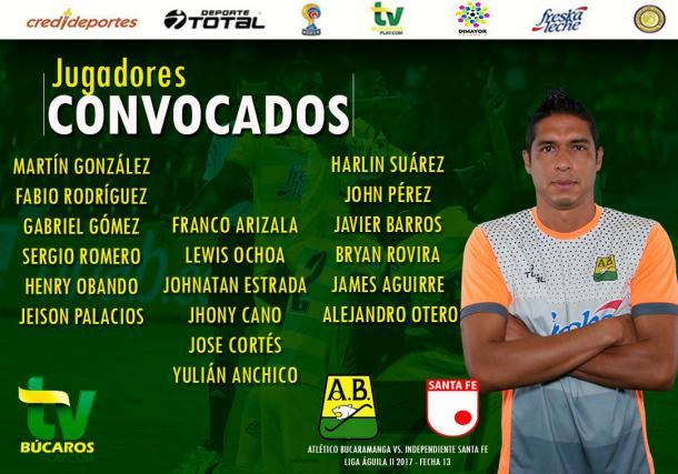 Foto: Atlético Bucaramanga