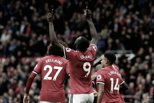 Lukaku celebrando un gol importante/ Foto: Twitter Lukaku