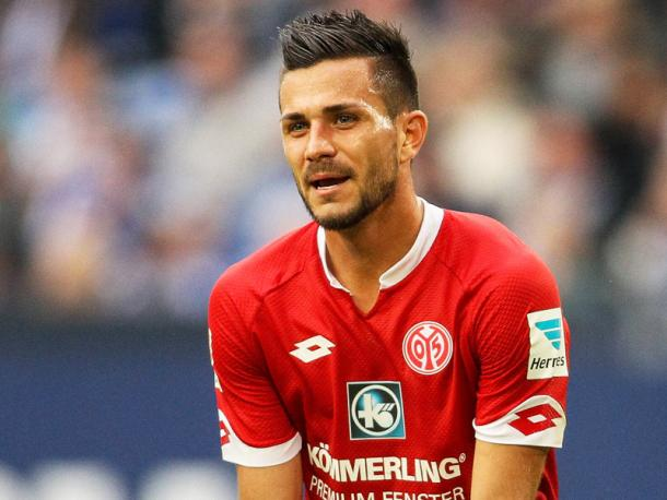 Latza was a key player for Mainz last season. | Image credit: kicker - Getty Images