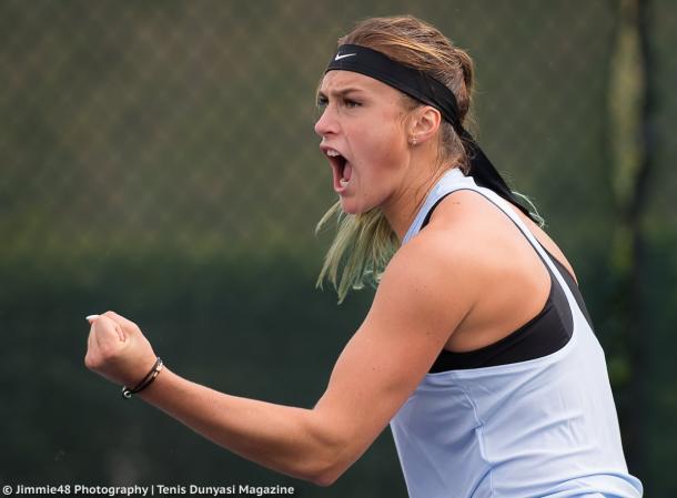 Aryna Sabalenka made her maiden WTA final in Tianjin this year | Photo: Jimmie48 Tennis Photography