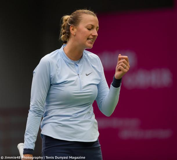 It was Kvitova's last match of the season | Photo: Jimmie48 Tennis Photography