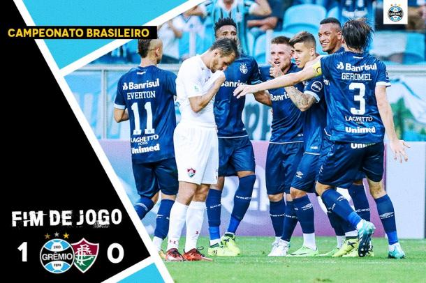 Resultado de imagem para gremio x fluminense na arena pelo brasileirão 2017