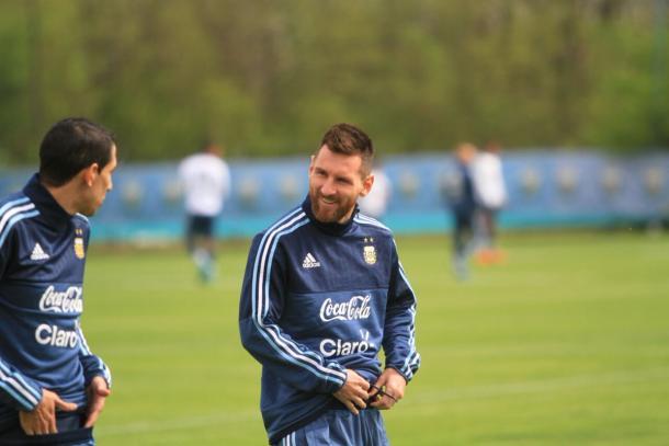 Todas las esperanzas de la Selección Argentina están puestas en Lionel Messi | Foto: AFA.