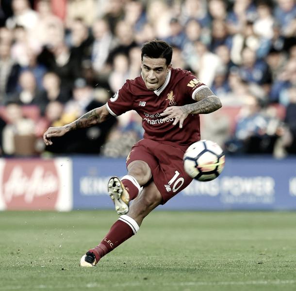 Coutinho será el hombre a seguir en este partido por parte del Liverpool./ Foto: Premier League