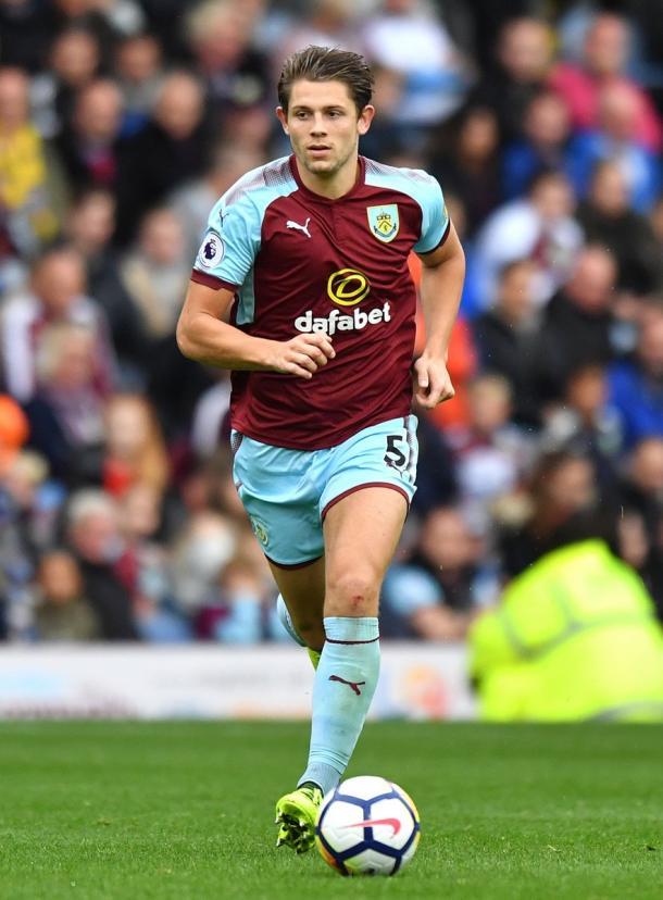 Tarkowski (24), difensore del Burnley.