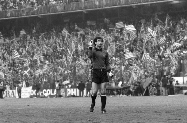 Zubizarreta, uno de los porteros de España en el Mundial del 90 | Foto: @LaLiga