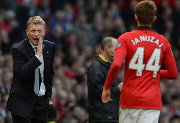 Is it time for Moyes to make the most of his relationship with Januzaj? | Image source: Sky Sports