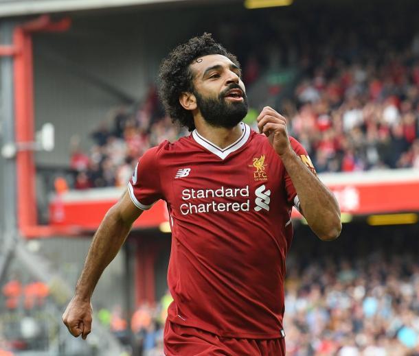 Mohamed Salah. | Fonte: twitter.com/LFC