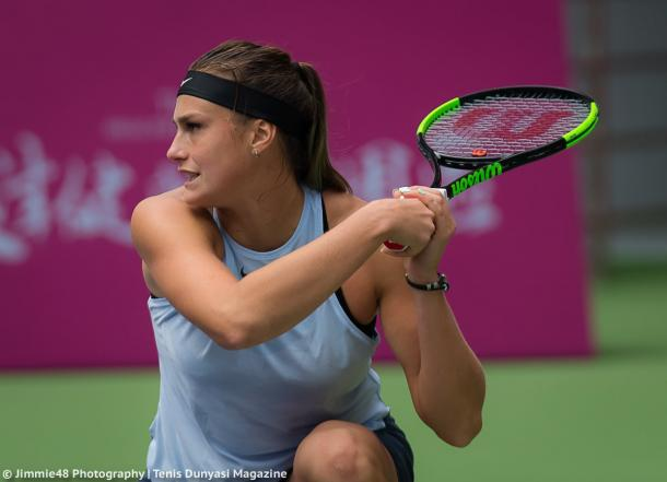 Aryna Sabalenka in action | Photo: Jimmie48 Tennis Photography