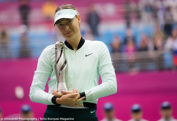 Maria Sharapova would have some nice memories in China, having won the Tianjin Open in October this year | Photo: Jimmie48 Tennis Photography