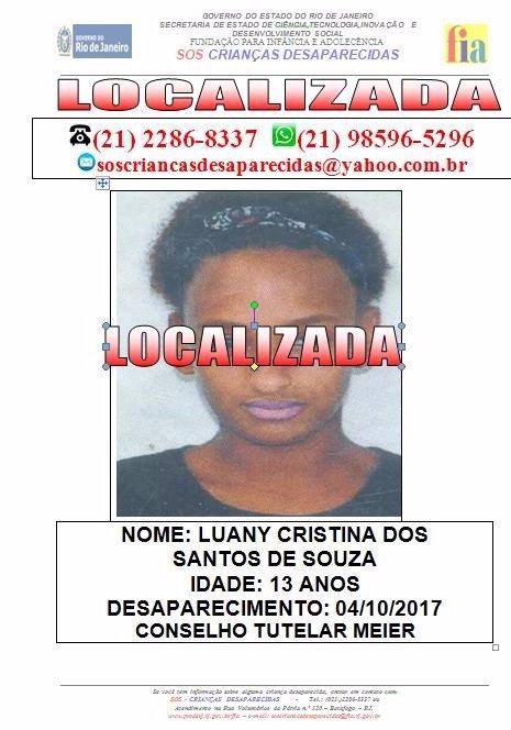 Luany estava desaparecida desde o início do mês | Foto: Divulgação/Flamengo