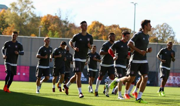 Allenamento Bayern - Fonte: @FCBayern / Twitter