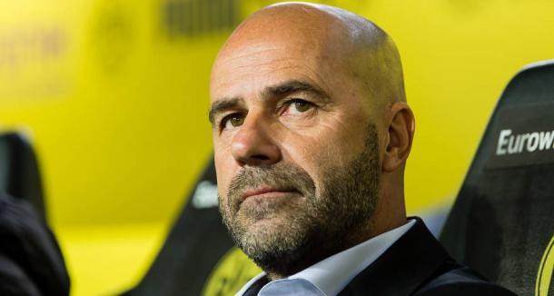 Il tecnico Peter Bosz. Foto: Twitter Borussia Dortmund