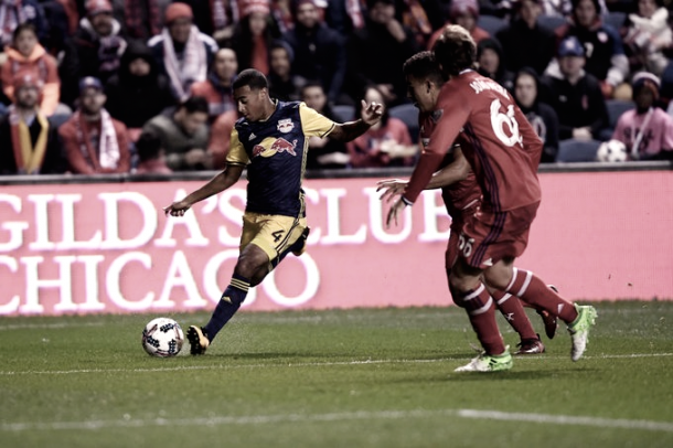 Tyler Adams assisted the second goal. | Photo: New York Red Bulls