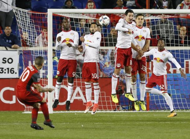 Sebastian Giovinco produced a moment of magic to put Toronto in the lead again | Source: torontofc.com