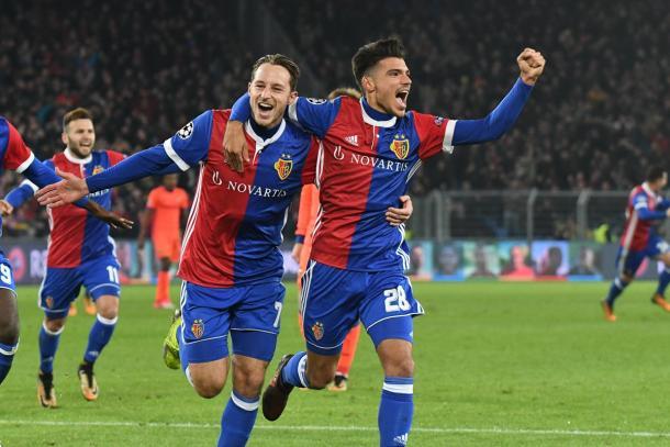 Basel sai em vantagem no intervalo, mas cede virada ao CSKA no segundo tempo (Foto: Divulgação/Basel)
