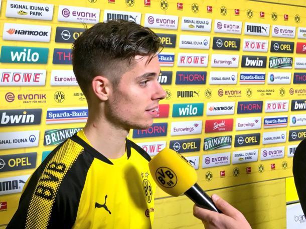 Julian Weigl. Foto: Twitter Borussia Dortmund