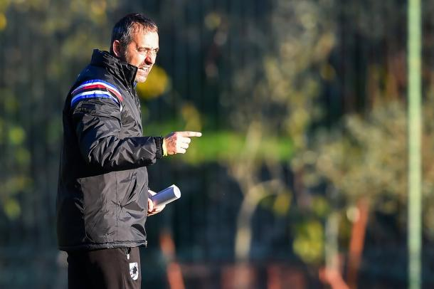 Fonte: Twitter U.C. Sampdoria