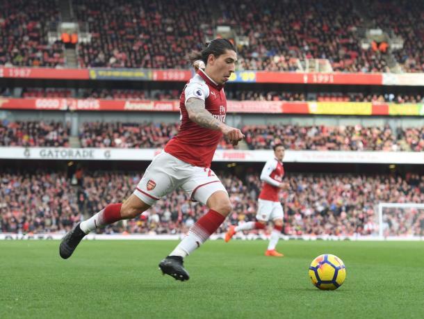Hector Bellerin, spina nel fianco della difesa Spurs | Twitter Arsenal