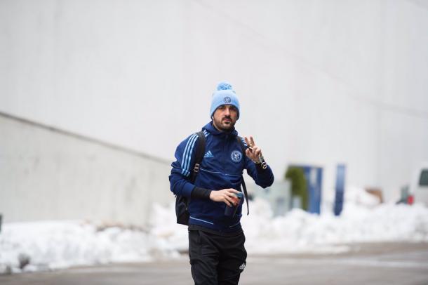 David Villa defiende actualmente la camiseta del New York City, de la Major League Soccer: Imagen: New York City