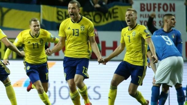 Johansson, el mártir de la clasificación sueca | Foto: @UEFAcom_es