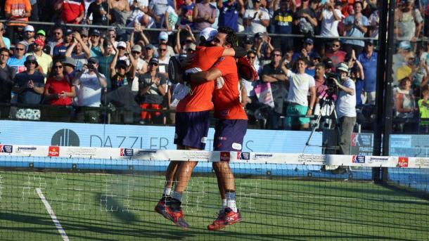 Fernando Belasteguín y Pablo José Lima campeones del WPT Buenos Aires Master 2017 | Foto: @WorldPadelTour