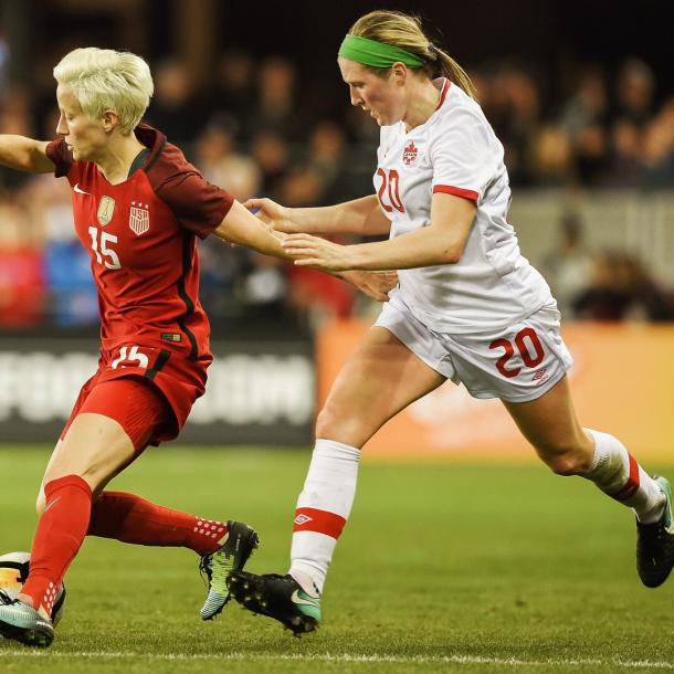 Rapinoe's influence grew as the game wore on | Source: Kyle Terada-USA TODAY Sports