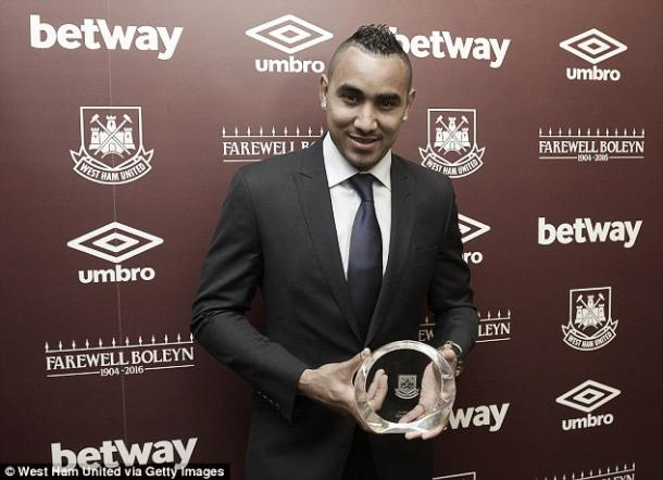 Payet will be hoping to end his season on a high after sweeping five awards at the end of year dinner. | Image source: Getty Images
