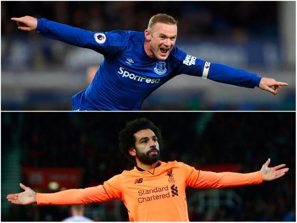 Rooney marcó un triplete y Salah por duplicado | Foto: PL.