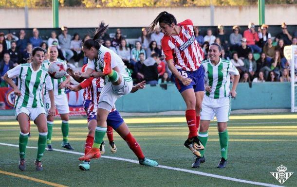 Imagen del Betis - Atlético de la pasada jornada | Foto: Real Betis