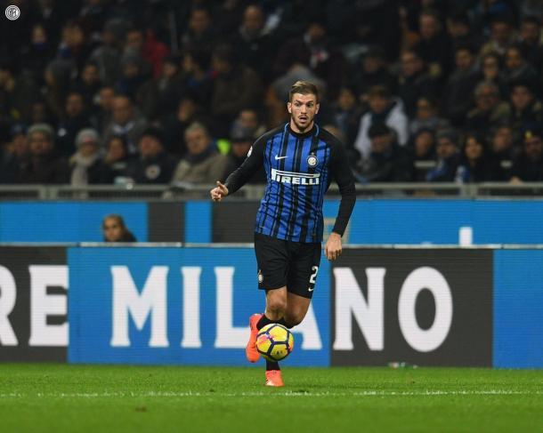 Santon in campo dal primo minuto dopo tanto tempo | Twitter @Inter