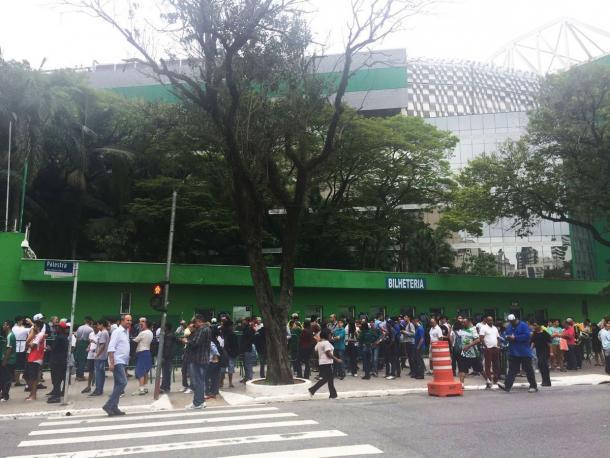 Divulgação: Twitter Sociedade Esportiva Palmeiras