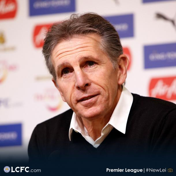 Claude Puel   Foto: Leicester City.
