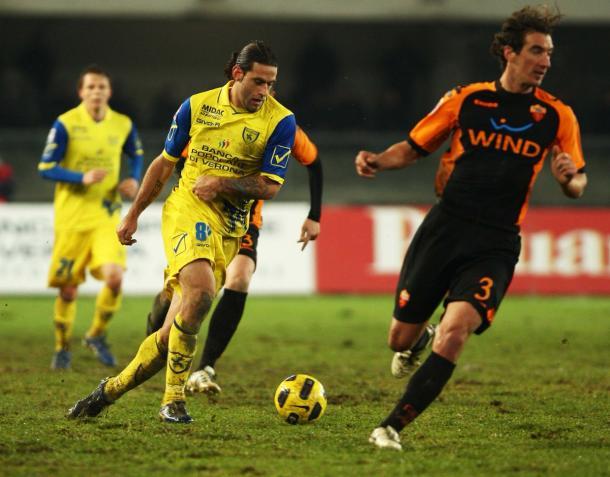 Foto: @ACChievoVerona / Chievo - Roma de la temporada 2010-2011
