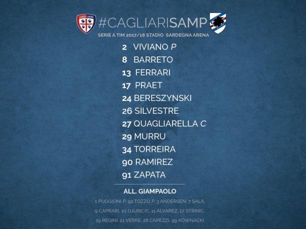 Cagliari Twitter