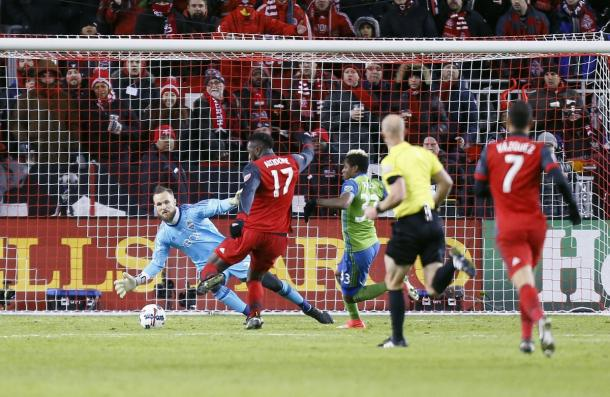 Toronto FC finally got the better of Stefan Frei thanks to Jozy Altidore | Source: mlssoccer.com