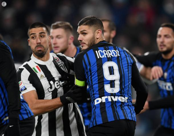 Icardi en el 'Derbi de Italia' | Foto: Inter