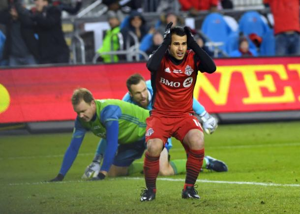 Sebastian Giovinco rues his missed opportunity | Source: mlssoccer.com