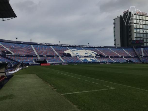 Así luce el Estadio hoy. Fotografía: Twitter Athletic
