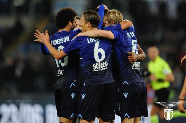 Dopo l'inciampo col Torino, per la Lazio è arrivata una netta vittoria in Tim Cup: 4-1 il punteggio finale rifilato al Cittadella. Fonte foto: Official SS Lazio | Twitter