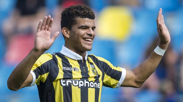 Dominic Solanke has been in fine form this season. (Image credit: nos.nl)