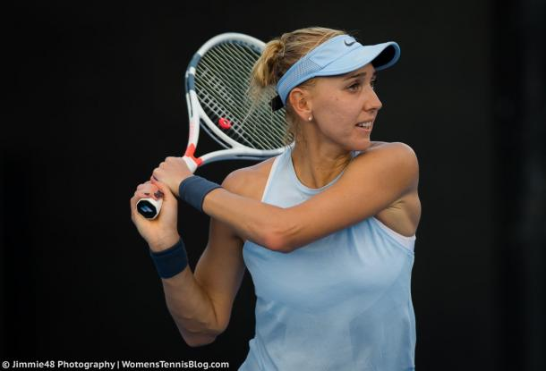 Elena Vesnina's groundstrokes were clinical today | Photo: Jimmie48 Tennis Photography