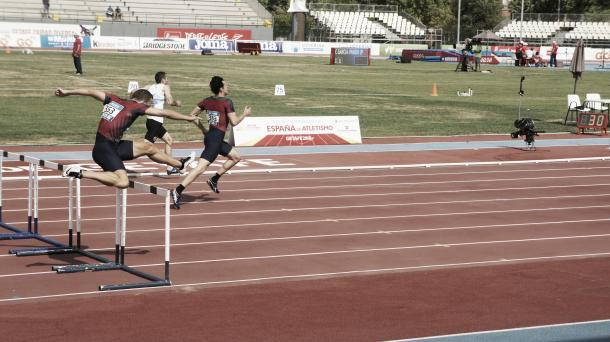 El jovencísimo Aleix Porras domina su semifinal| foto Oscar García