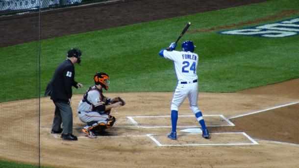 Dexter Fowler leads off game 1 of the NLDS against the San Francisco Giants/Christian Hansen VAVEL USA