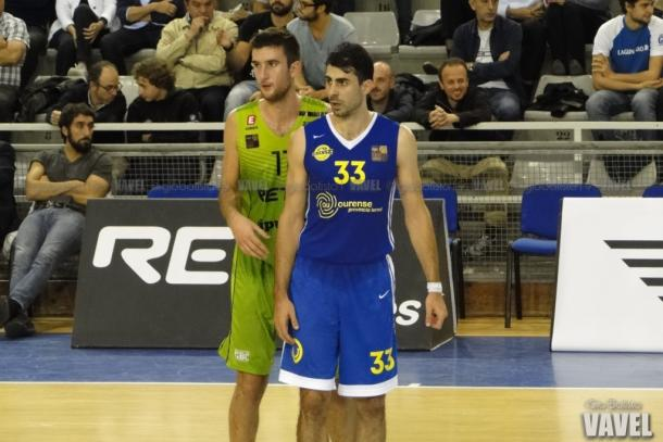Mitrovic junto a Pardina. I Foto: Giovanni Batista / VAVEL