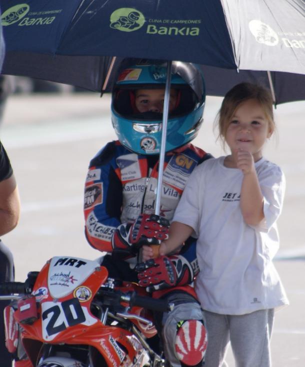 Los comienzos de Josito en Motociclismo. Foto: IMR Racing.