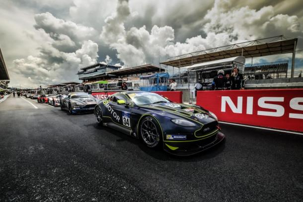 Aston Martin da TF Racing lidera o campeonato. (Foto: GT3 Le Mans Cup)